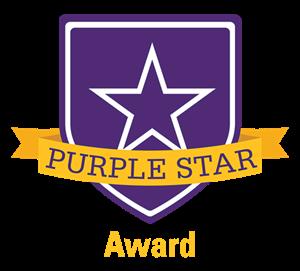 Purple Star Award Logo