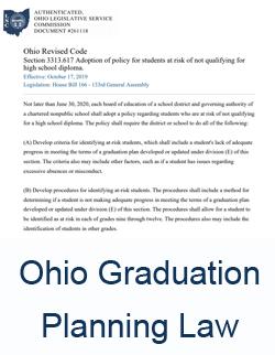 Ohio Graduation Planning Law