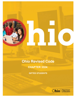 Ohio Revised Code: Gifted Students