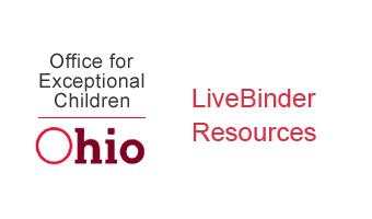 Office for Exceptional Children livebinder resources