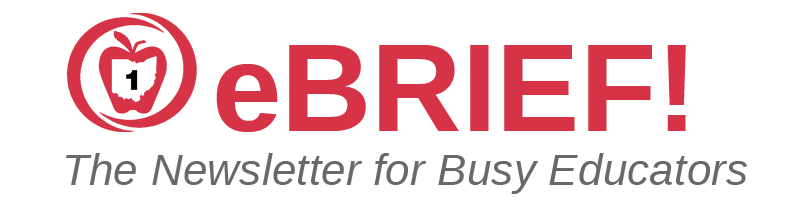 ebrief the newsletter for busy educators